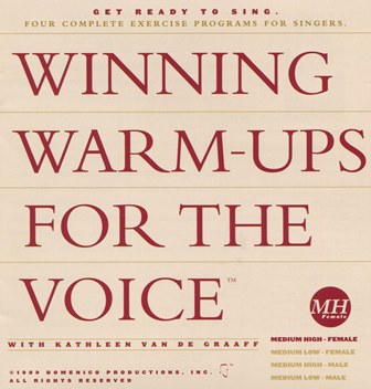 Winning Warm-ups for the Voice Medium High Female warm-up, vocalise, voice exercise, vocal exercise, singing exercise, how to sing, learn to sing