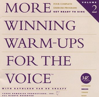 More  Winning Warm-ups for the Voice Mezzo warm-up, vocalise, voice exercise, vocal exercise, singing exercise, how to sing, learn to sing