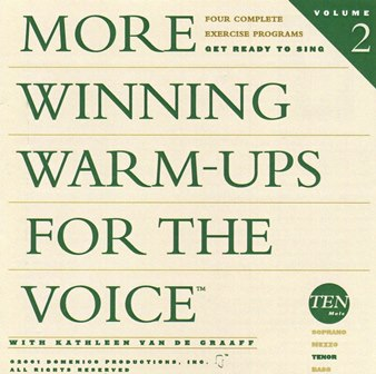 More  Winning Warm-ups the Voice Tenor warm-up, vocalise, voice exercise, vocal exercise, singing exercise, how to sing, learn to sing