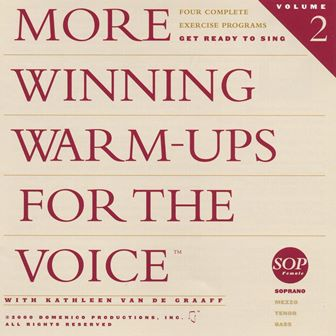 More  Winning Warm-ups for the Voice Soprano warm-up, vocalise, voice exercise, vocal exercise, singing exercise, how to sing, learn to sing